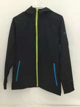 Columbia Sportswear Boys Lightweight Hooded Black Jacket Size 14/16(PRE-OWNED) - $9.99