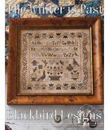 The Winter Is Past cross stitch chart Blackbird... - $10.80