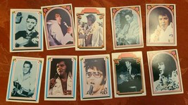 ELVIS TRADING CARDS FACTS NO.  50 51 52 53 54 60 61 63 64 66