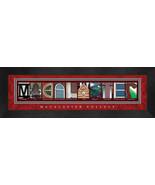 Macalester College Officially Licensed Framed Campus Letter Art - $39.95