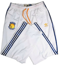 Adidas Golden State Warriors Sweatpants Men's 2XL White Blue Patch Logo ... - $67.28