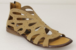 Womens 202 Style All Real Leather Huarache Sandal Ankle Zipper Sand - €32,08 EUR
