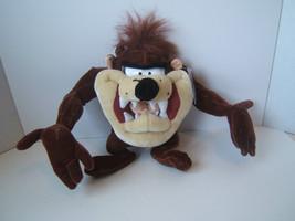 "Looney Tunes 12"" Taz Plush Tasmanian Devil Stuffed Animal With Tags Six ... - $15.36"
