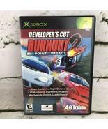 Burnout 2: Point of Impact Developer's Cut (Microsoft Xbox) Video Game - $9.89