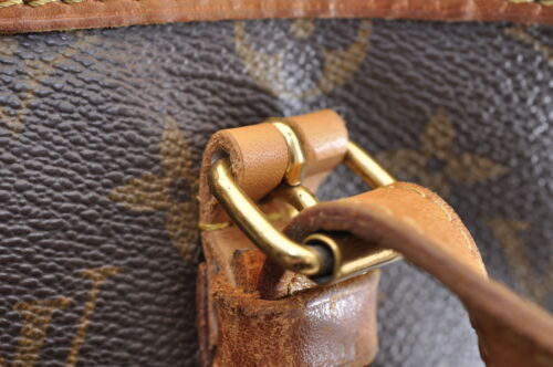 LOUIS VUITTON Monogram Bucket GM Shoulder Bag M42236 Auth ar791 No Sticky