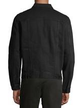 George Men's Classic Jean Button Flap Pockets Denim Trucker Jacket image 2