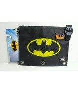 DC COMICS BATMAN VAULTZ POUCH SECURE COMBINATION LOCK 3 RING BINDER  - $12.73
