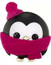 Bath & Body Works Pink Scarf Penguin Scentportable Car Air Freshener Vis... - $8.71