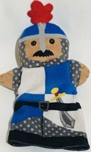 Melissa And Doug Knight Armor W/sword Hand Puppet EUC - $12.86
