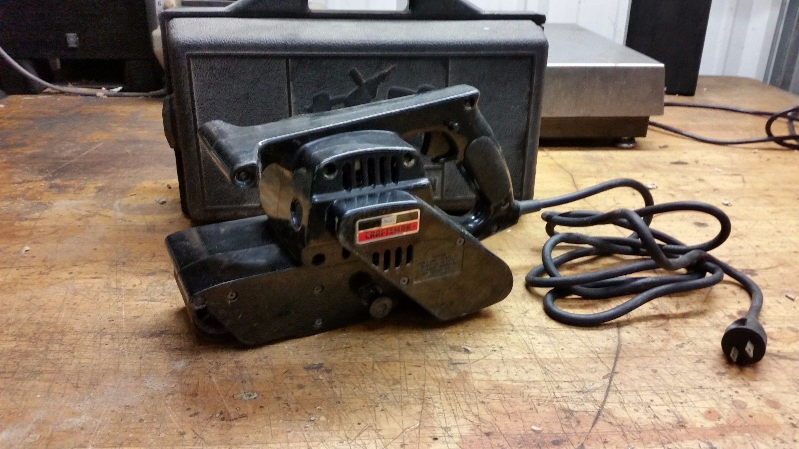 Sears Craftsman 315.11721 3x 21 Corded Electric Belt Sander with case