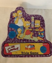 The Simpsons Trivia Game Board Game in Collectors Tin Complete - $20.00