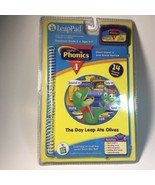 LeapFrog LeapPad Phonics Lesson 4 The Day Leap Ate Olives Book & Cartrid... - $9.89