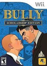 Bully -- Scholarship Edition (Nintendo Wii, 2008) - $12.86