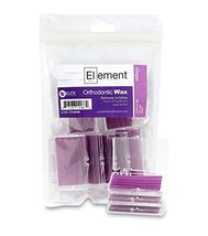 Element Dental Orthodontic Wax 10 Pack-10 Colors/scents Available (Purpl... - $10.05