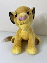 "Original Disney Store MC Simba Plush 20"" Length Lion King - $14.10"