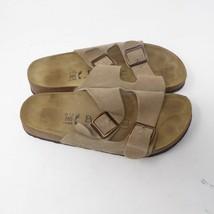 d253617f735c BIRKENSTOCK ARIZONA Tan 265 Slip On Sandals Women 10 Men 8 EU 41 Betula -   59.35