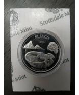 2020 EC8 St. Lucia Whiptail Lizard 1 oz Silver BU - $48.00