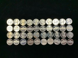 1975-S  proof Nickel roll of 40 COINS - $21.75
