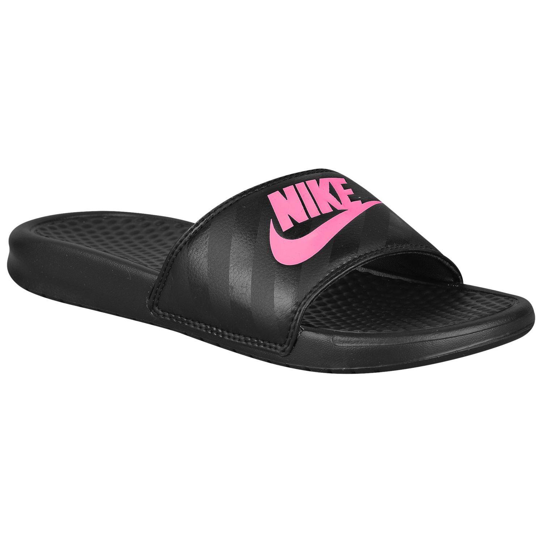 8bfbbb4e8d509 Nike Women s Benassi JDI Slides Pink and 50 similar items
