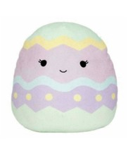 """Squishmallow Kellytoy Edie the Purple Easter Egg 12"""" Easter Edition  Plush D - $30.09"""