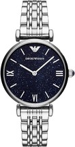 Emporio Armani Women's Watch AR11091 Blue/Silver, New with Tags 2 Years Warranty - $138.90