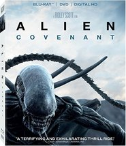 Alien: Covenant [Blu-ray+DVD+Digital, 2017]