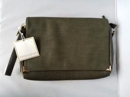 NWT Shiraleah Chicago Lauren Clutch Olive Green Flap Top Zip Wristlet & ... - $54.31