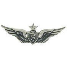 Army Senior Flight Surgeon Wings Badge Pin - $13.53