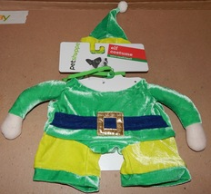 Christmas Dog Costume 3D Elf Small To Extra Small 12 To 19 Lbs 150X - £6.76 GBP