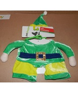 Christmas Dog Costume 3D Elf Small To Extra Small 12 To 19 Lbs 150X - $8.49