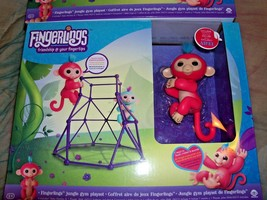 FINGERLINGS JUNGLE GYM PLAY SET COMPLETE WITH NEW FINGERLING INTERACTIVE... - $29.02