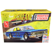 Skill 2 Model Kit 1965 Ford Fairlane Modified Stocker 1/25 Scale Model by AMT AM - $45.99
