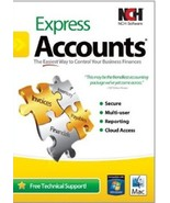 Express Accounts Plus Easy Accounting Software for Apple Macintosh NCH - $64.13