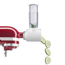 Gvode Slicer/Shredder Attachment for KitchenAid Stand Mixers as Vegetabl... - $71.99