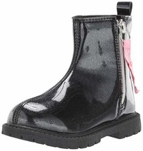 Carter's Girl's Kaia Boot, Black, 9 M US Toddler - $28.99