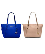 Michael Kors Jet Set  East West Top Zip Tote shoulder bag satchel  - $135.00
