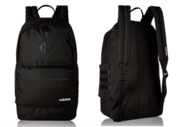 Adidas Limited Edition Classic Black 3S Backpack Bag with Black Stripes ... - $61.92 CAD