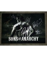 Sons Of Anarchy Cast Autographed 13x19 Photo COA Katey Sagal Charlie Hunnam - $600.00