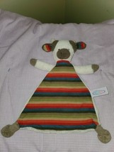 """Mary Meyer 12"""" Bull Cow Oatmeal Creme Striped Baby Lovey Security Blanket Plush  - $67.49"""