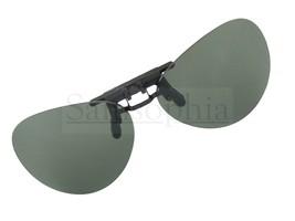 Green Pilot Clip On Flip Up Sunglasses - $13.33