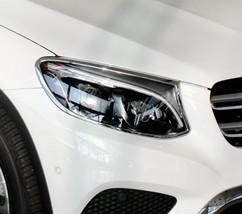 Mercedes GLC X253 Chrome Headlight Trim Bezels by Luxury Trims 2016-2019 - $128.69