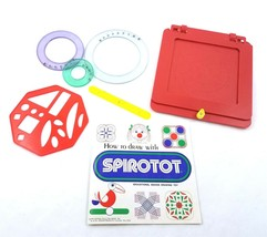 Vintage Kenner Spirotot Design Drawing Toy Spirograph General Mills 1975... - $24.64