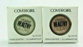 CoverGirl Vitalist Healthy Glow Highlighter  *Choose your shade*Twin Pack* - $10.29