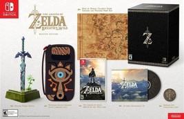 Nintendo Switch The Legend of Zelda Breath of t... - $593.99