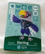 048 - Sterling - Series 1 Animal Crossing Villager Amiibo Card - $19.99