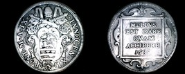 1685-IX Italian States Papal States 1 Testone World Silver Coin - Innoce... - $149.99