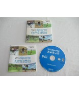TESTED Nintendo Wii Sports Family Multi-Player Game w/Cardboard Sleeve &... - $19.99