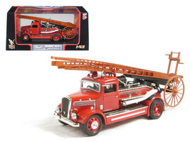 1938 Dennis Light Four Fire Engine Red 1/43 Diecast Car Model by Road Si... - $45.00