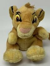 The Lion King Simba Cub Plush Hand Puppet Soft Stuffed Animal Applause 9... - $9.99
