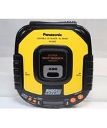 Parts & Repair Panasonic SL-SW405 Shock Wave Portable CD Player Yellow Mash - $14.84